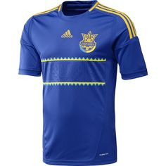 Ukraine 12-13 Away Shirt  [Adidas_X11605]