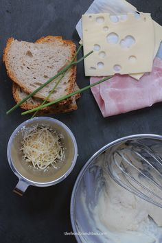 Croque Monsieur with Cheesy Béchamel Sauce  By The French Lunchbox