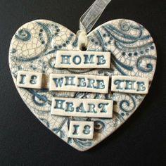 Owl pottery clay ceramics hanging decoration bird | Pottery | Popular Crafts | Craft Juice