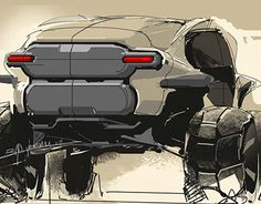 2025 Honda Pilot - The Iron Rock Challenger Car Design Sketch, Car Sketch, Car Drawings, Drawing Sketches, Design Transport, Offroader, Industrial Design Sketch, Honda Pilot, Futuristic Cars
