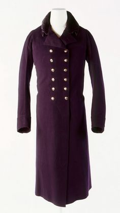 Beau Brummell's Greatcoat, c. 1803. Just gorgeous.