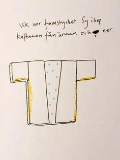 Karins konstgrepp: DIY: Sy en kaftan!