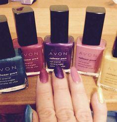 NEW Spring Colors from AVON! Http://lorrieeanes.avonrepresentative.com #nails #ilovemyjobeveryday