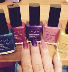 NEW Spring Colors from AVON!  Http://lorrieeanes.avonrepresentative.com #nails #ilovemyjobeveryday
