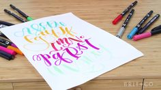Learn how to craft your own lettering style with this Brit + Co online class.