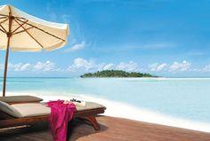 Um, yes please! The Maldives look amazing!