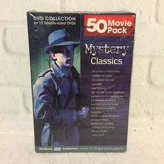 Mystery-Classics-50-Movie-Pack-12-DVD-Collection-SEALED-2006