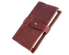 """""""The Journey"""" Leather Journal by Urban Southern. Handmade in Monterey, TN."""