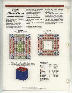 Eagle Tissue Box Cover 2/2