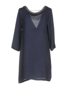 AXARA PARIS Women's Short dress Dark blue M INT