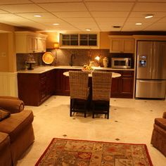 Basement Apartment Design Ideas, Pictures, Remodel, and Decor - page 4