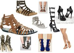 """""""Gladiator Shoes"""" by emily-mack on Polyvore"""