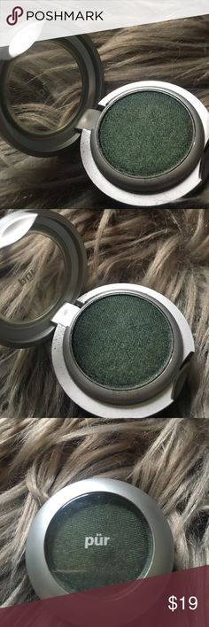NEW Pur Minerals Eyeshadow, Midnight Jade Pur Minerals mineral eyeshadow in Midnight Jade.  Deep emerald green with shimmer.  New without box.  Bundle and save.  Happy Shopping! Pur Minerals Makeup Eyeshadow