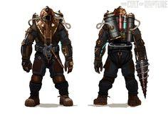 Bioshock 2 : Des Artworks de Big Daddy