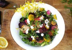 Voici la salade détox la plus populaire sur Pinterest - Elle à Table Plus Populaire, Voici, Cobb Salad, Detox, Gluten, Food, Table, Chicken Bites, Salads