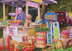 Puppies for Free (450 pieces)