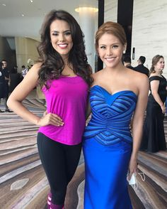 Miss Guatemala @arguetavirginia is such a fun, perky & beautiful woman! Had a blast chatting with her because of her energy & enthusiasm! 😍 Her smile & laugh is so infectious! I even had to ask her fitness routine because she is so fit! 💃🏼 Another lady who fell in love with the Philippines, it's culture & people! ❤️
