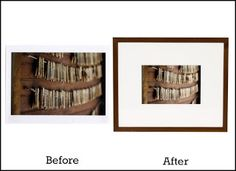 49 Best Framing Before And After Images American Frame Frame Of