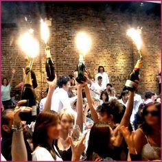 Champagne Bottle Sparklers 6