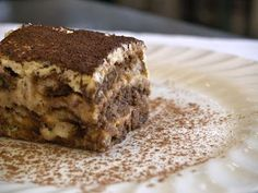 A fabulous tiramisu recipe my friend brought back from Rome. It's not as sweet as the traditional tiramisu recipes that one usually finds. TRY THIS!