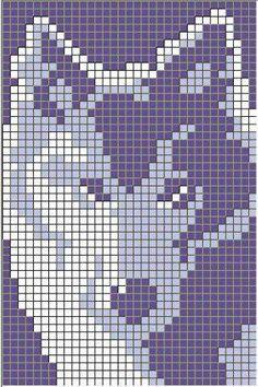 Hottest Photos knitting charts wolf Suggestions 68 Ideas for knitting charts wolf Knitting Charts, Baby Knitting Patterns, Free Knitting, Bead Loom Patterns, Beading Patterns, Beading Ideas, Beading Projects, Cross Stitching, Cross Stitch Embroidery