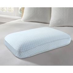 europedic big and soft ventilated cooling gel memory foam pillow