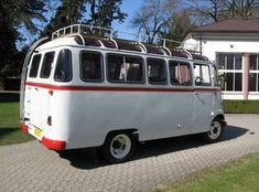 1958 Mercedes Benz 319 Panoramabus Fensterbus Camp Tour Bus For Sale Rear