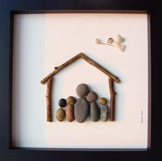 Unique Family Gift Customized Family Art Work by MedhaRode, $54.95