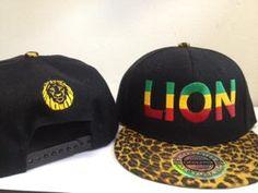 045c2f9c8aa City Hunter - Lion Leopard Snapback Hat. Reggae Planet · New Items · Bob  Marley Clothing ...
