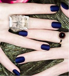 Love the concept of matte nail polish - OPI makes some cool fall colors. Yes, please!