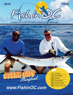 Get your free Ocean City MD Fishing Guide Fish Tales, Ocean City Md, Fishing Report, Fishing Guide, Boat, Vacation, Free, Dinghy, Vacations