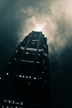 Gotham? No, Atlanta's Bank Of America on http://www.thecitypictures.net