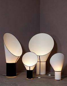 Lampe Grand Cargo Design By Hervais Langlais Design Heure Luminaire Design, Lamp Design, Design Design, Light Table, Lamp Light, Modern Lighting, Lighting Design, Large Lamps, Unique House Design