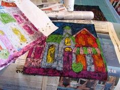Making Batik Fabric with Crayons | Suzy's Artsy Craftsy Sitcom