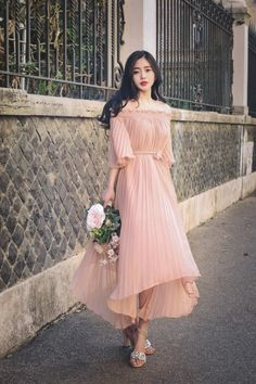 Definitely a cute fall dress (but hey, I'm from AZ) Fall Dresses, Pretty Dresses, Casual Dresses, Prom Dresses, Ulzzang Fashion, Asian Fashion, Girl Fashion, Fashion Design, Korean Dress