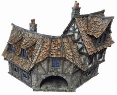 The Coaching Inn from Tabletop World (painted by cianty)
