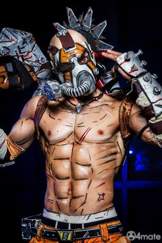 Psycho Krieg - Borderlands 2 Cosplay by Leon Chiro by LeonChiroCosplayArt on DeviantArt
