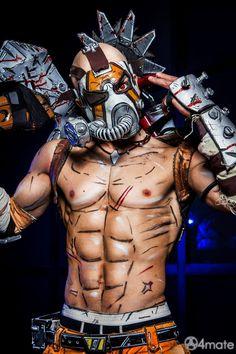Psycho Krieg - Borderlands 2 Cosplay by Leon Chiro by LeonChiroCosplayArt on DeviantArt