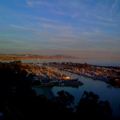 The View from Cannons Seafood Grill in Dana Point, California.