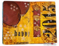 Clips-n-Cuts | Art Journal :  happy 2015 | http://www.clips-n-cuts.com