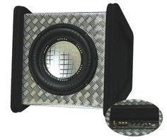 Aluminium Boom Box with Amplifier (Cmos Circuit) #CarSubwoofer