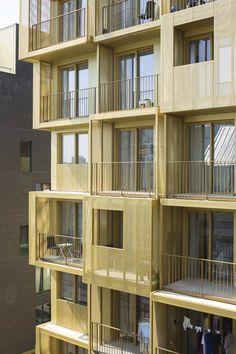 ZAC Seguin, Boulogne-Billancourt by Hamonic+Masson & Associés in Paris, France Building Skin, Building Facade, Metal Facade, Cubes, Student House, Social Housing, Facade Architecture, City Buildings, Renting A House