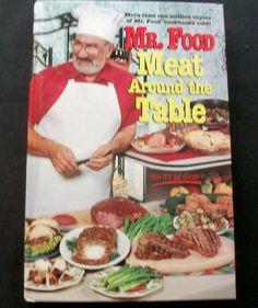 Mr. Food Meat Around the Table 1996 HC 1st ed. (10814-1234) cookbooks