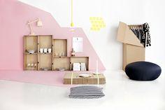 Love the pink. By Finnish stylist Susanna Vento and photographer Kristiina Kurronen.