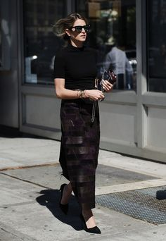 New York Fashion Week Street Style Spring 2016 - #NYFW #StreetStyle