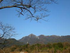 菰野町大羽根園地区 御在所岳、国見岳 平成25年3月12日早朝撮影