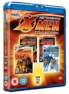 Astonishing X-Men: Collection  (Region Free) [PAL] [Blu-ray] @ niftywarehouse.com #NiftyWarehouse #Geek #Gifts #Collectibles #Entertainment #Merch