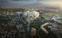 New National Stadium - Architecture - Zaha Hadid Architects