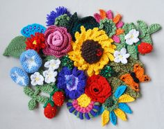 - free form crochet. This site has beautiful work. Free form has no patterns...then it wouldn't be free form any more. :)