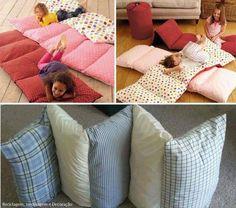 recycler la literie et les oreillers
